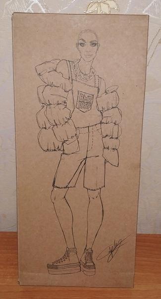 Екатерина Лондон: у кукол серии BMR1959™ очень классные крафтовые коробки с потрясающими эскизами