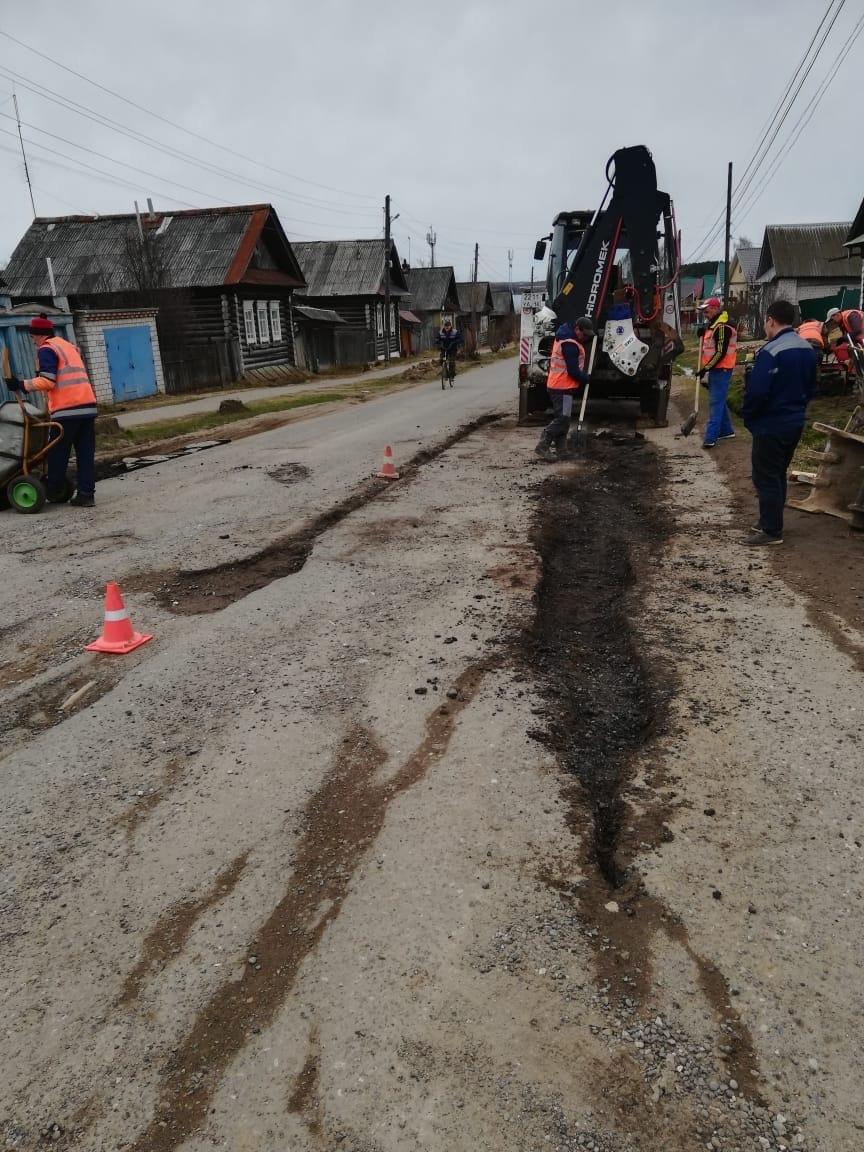 Управление заказчика сообщает, что ямочный ремонт дорог