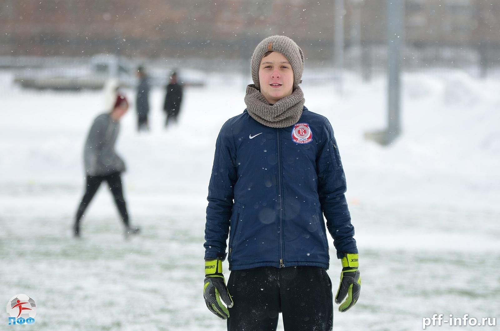 Егор Солодов: «Любовь к футболу победила мороз»