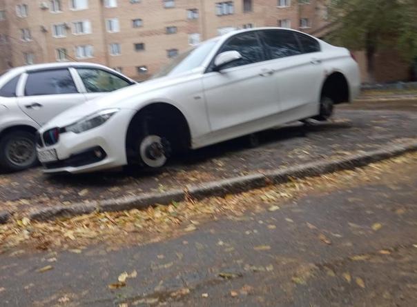 Автоворы «разули» BMW в центре Сызрани: в городе п...