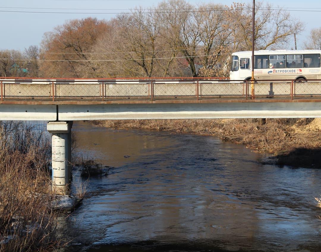 Администрация Петровского района сообщила о том, что угроза паводка в городе миновала