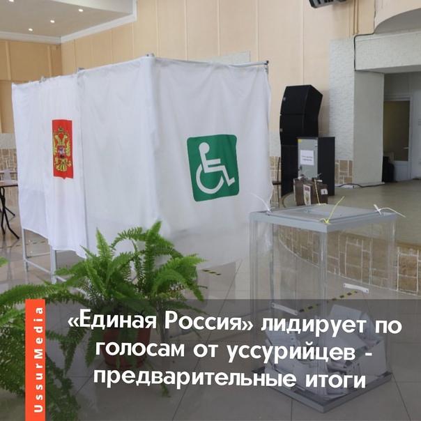 Подсчёт бюллетеней ещё не завершён.#выборы #уссури...