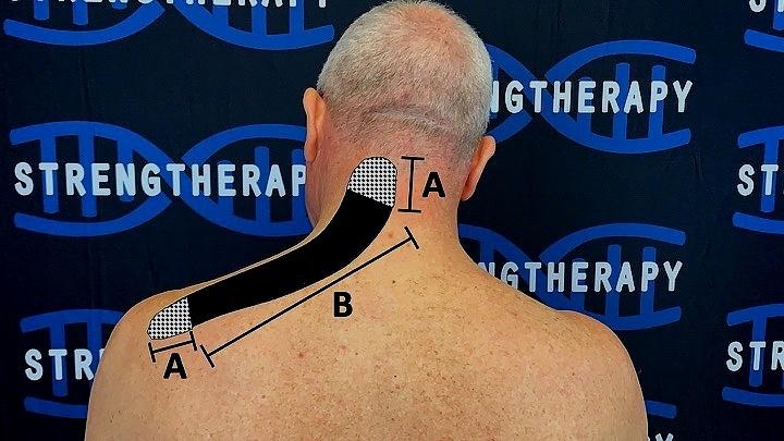 Кинезиологическая лента для уменьшения боли в шее, изображение №4