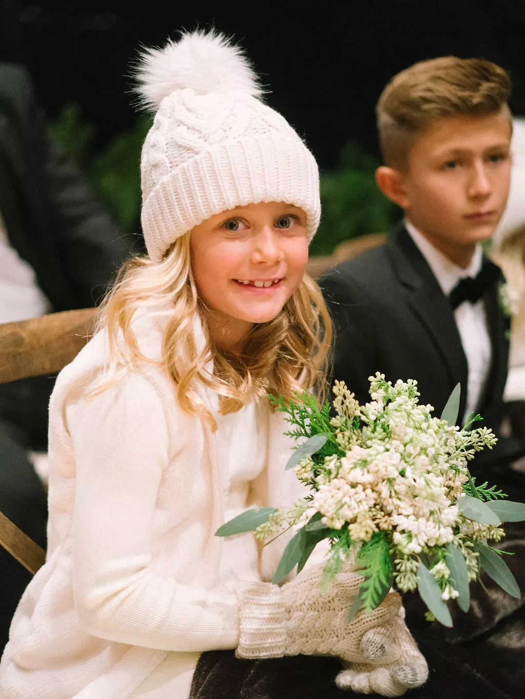 1sdZEo3YIYo - Свадьба в зимнем стиле