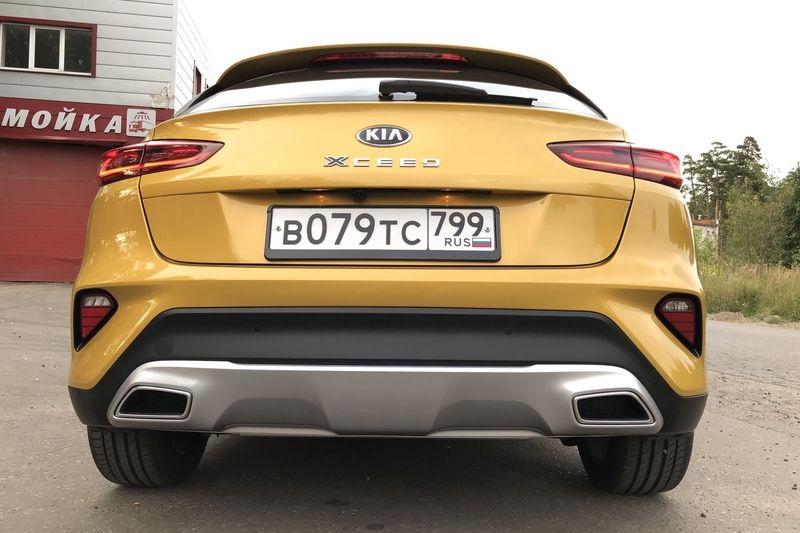 Kia XCeed: стоит ли отдавать 2 млн рублей за стильный кроссовер, изображение №12