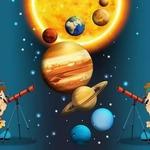 Путешествие по Солнечной системе» — сценарий на День Космонавтики для детей 7-10 лет
