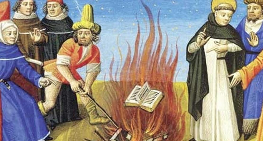 Сжигание катаров