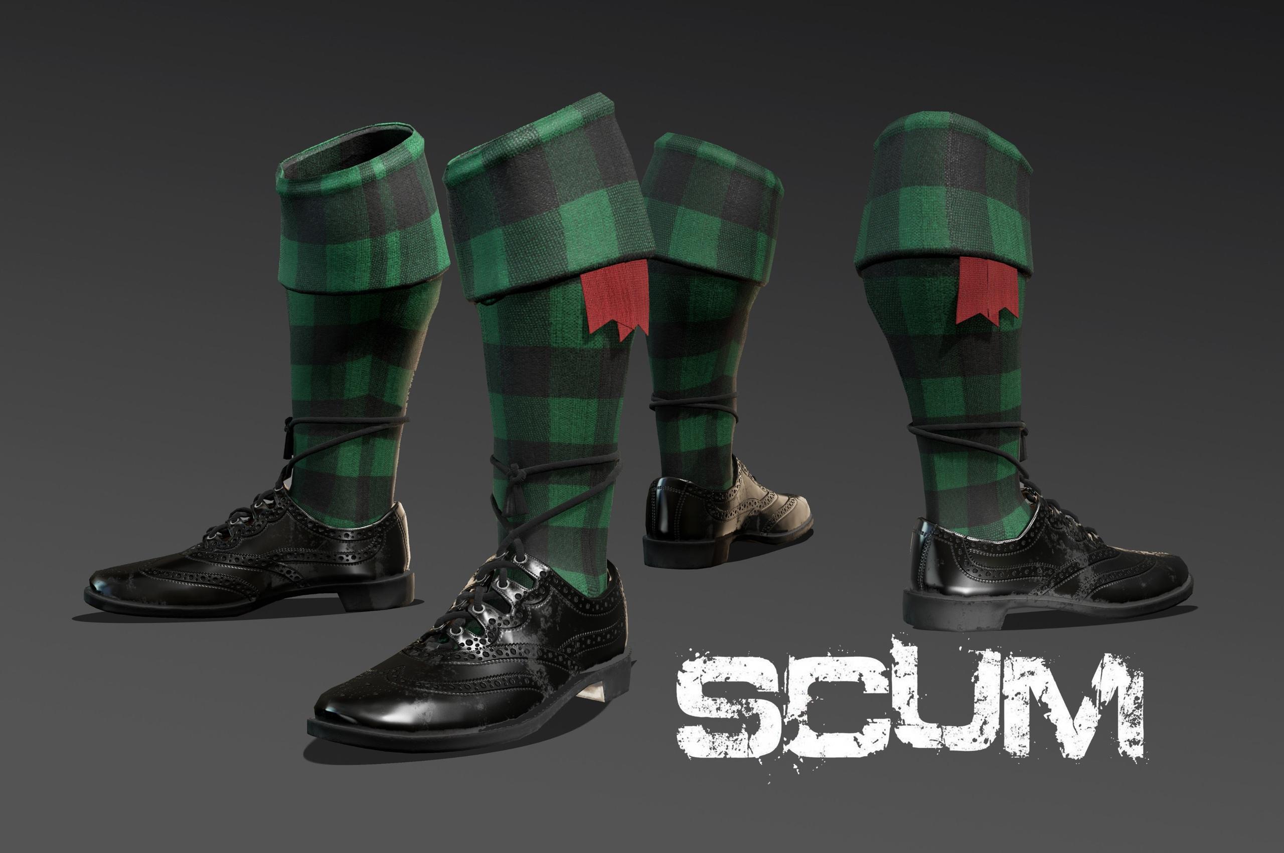 SCUM 🤪 👞Новые модные ботинки и...