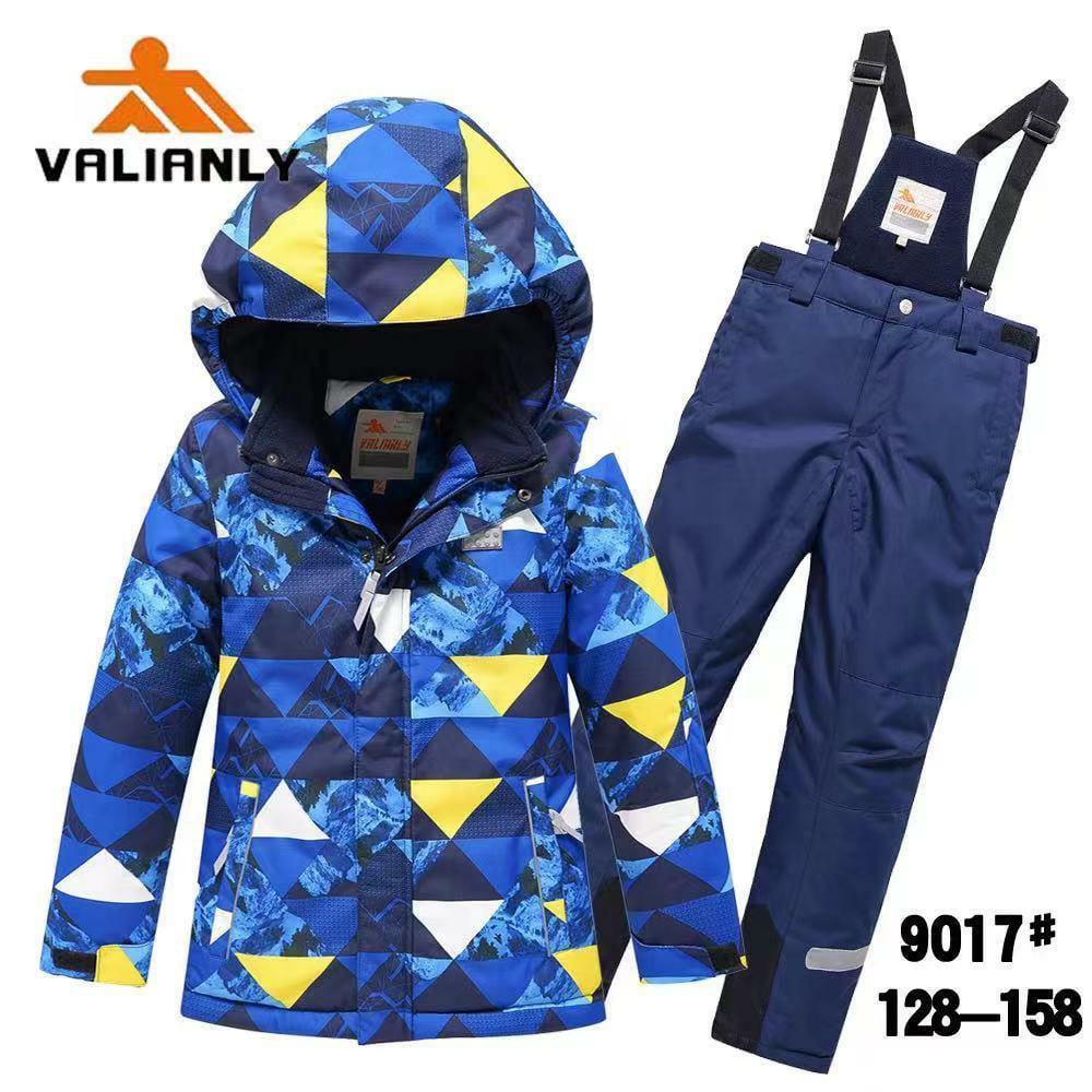 Зимний комплект Valianly 9017 синий