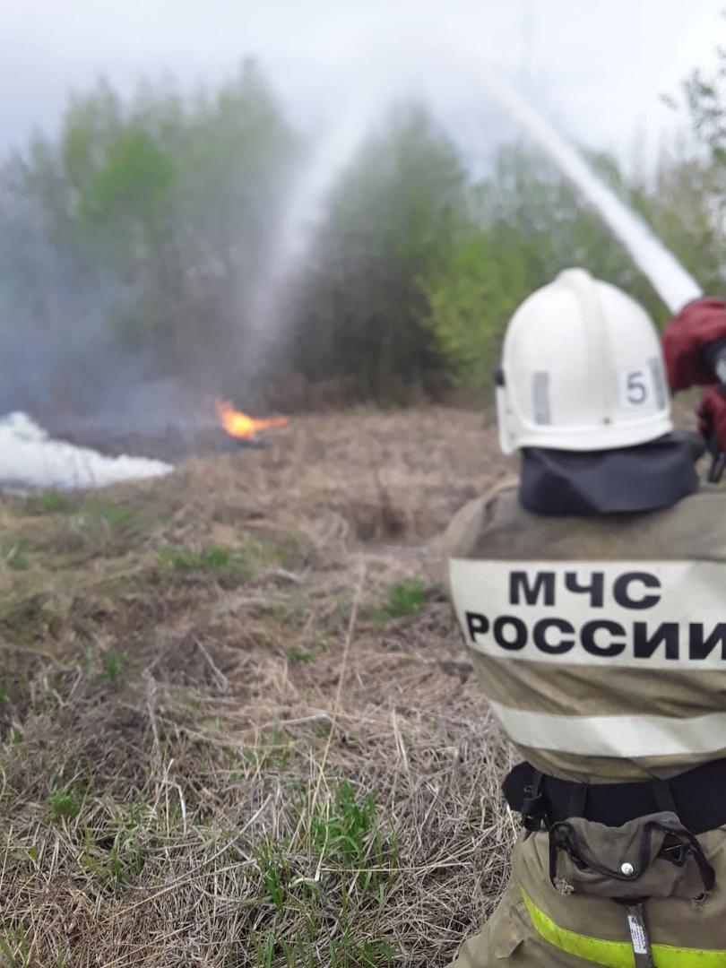 В Курской области добровольцы самостоятельно ликвидировали пожар в жилом доме