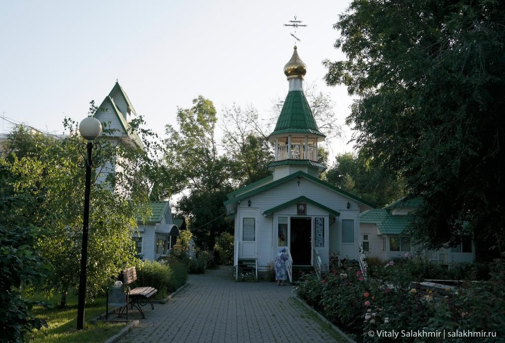 Часовня в городском саду, Волгоград 2020