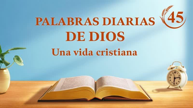 Palabras diarias de Dios Fragmento 45 El Salvador ya ha regresado sobre una 'nube blanca'