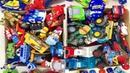 Большая Коробка с Игрушками Машинки Герои Мультиков