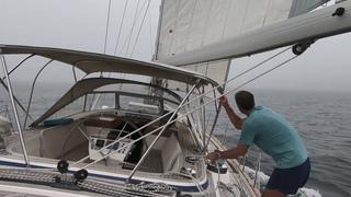 ep42 - Sailing Long Island - Sag Harbor & The Hamptons - Hallberg-Rassy 54 Cloudy Bay - Sep 2018