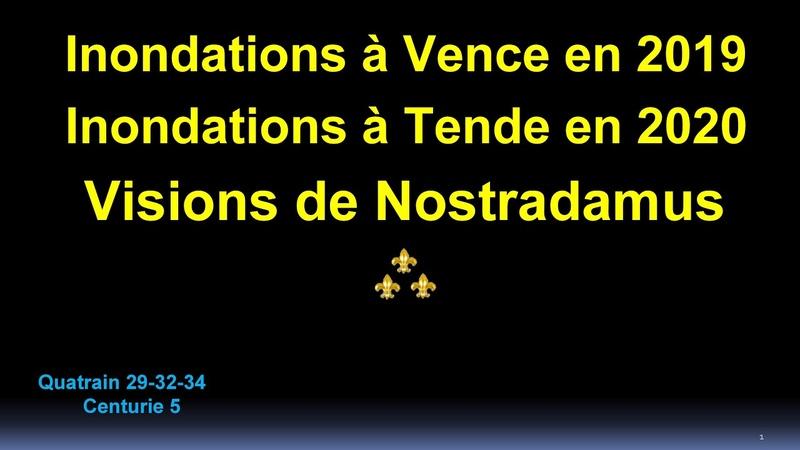 Inondations à Vence, Tende, et drame de Nice