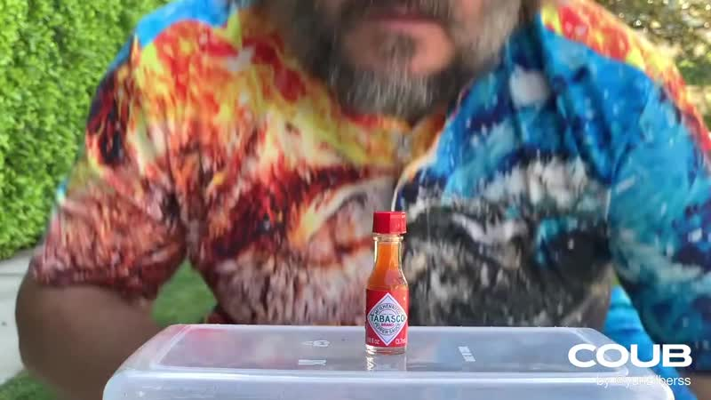 Bottle cap challenge jackblack