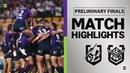 Storm v Raiders | Preliminary Finals | Telstra Premiership | NRL