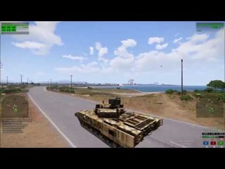 Arma 3 Koth Tank highlights #30 V12