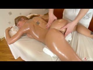 Массажист кончил внутрь клиентке(русское порно, russian porn, blowjob, massage, минет, массаж, секс, creampie, сперма внутрь)
