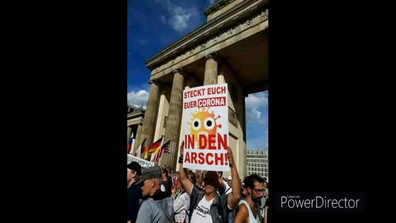 Demo ALARMStUFE ROT Ich sehe nur noch ROT armes Deutschland