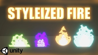 Stylized Fire   Unity Tutorial   Fire Shader
