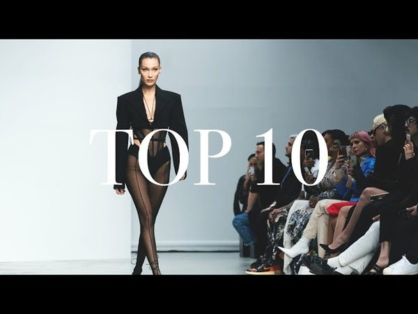 Top 10 Models Most Opened Shows Spring Summer 2020
