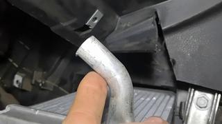 FORD FUSION замена радиатора отопителя