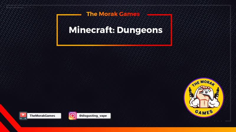 Minecraft Dungeons ➤ Стрим на геймпаде