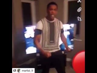 Martial celebrate PSG win