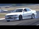 CRAZY Manji Drift 1JZ Toyota Cresta JZX90! - OnBoard Ride at Drift Matsuri! ドリフト
