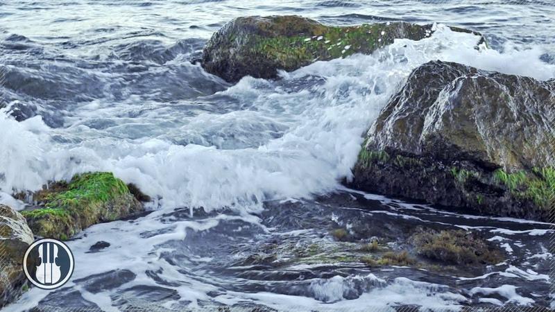 Шум моря Звуки волн в шторм для сна и релаксации Звуки природы 30 минут