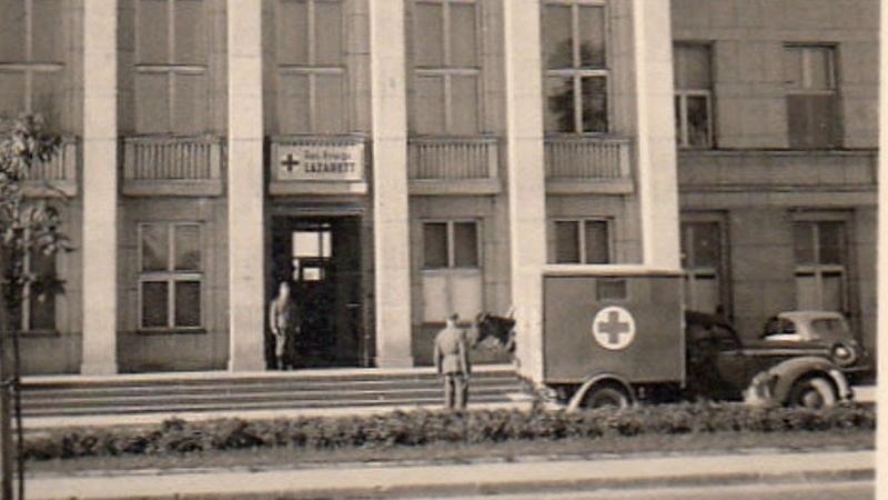 Военный госпиталь вермахта в Бресте
