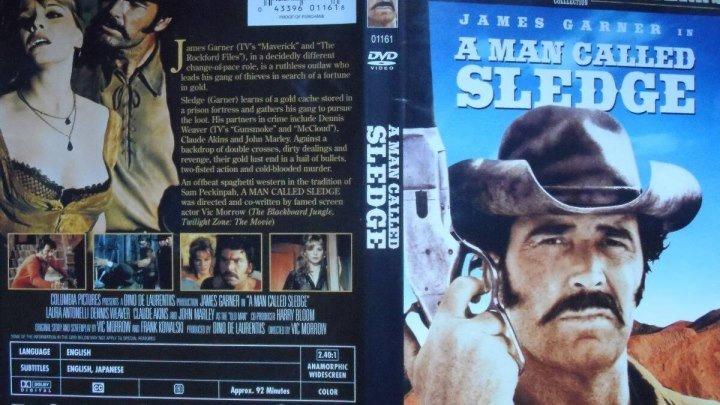 SLEDGE HOMBRE MARCADO 1971 de Vic Morrow con James Garner Dennis Weaver Claude Atkins Laura Antonelli by Refasi