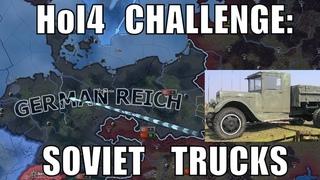 Hearts of Iron 4 Challenge: Soviet trucks vs buffed Germany