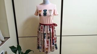 Платье в бокалы с аппликацией - ОБЗОР
