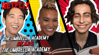 Cast of The Umbrella Academy Read The Umbrella Academy | Netflix