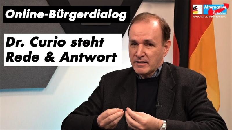 Q A mit Dr Curio zum neuen Lockdown dem Mord an Samuel Paty und Gefährdern in Deutschland
