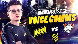 NAVI vs  - Rainbow Six VOICE COMMS at European League 2021 Stage 2