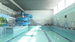Подготовка к открытию бассейна «Дельфин»