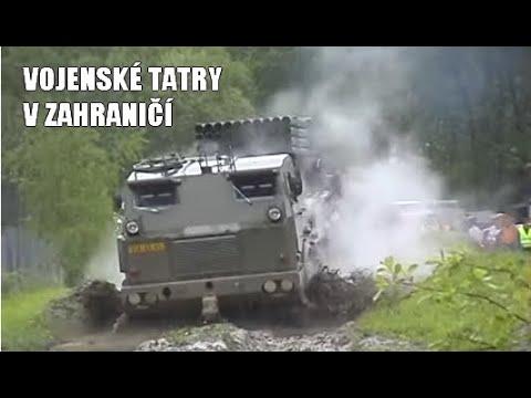 TATRA 100x jinak Vojenské TATRY v zahraničí
