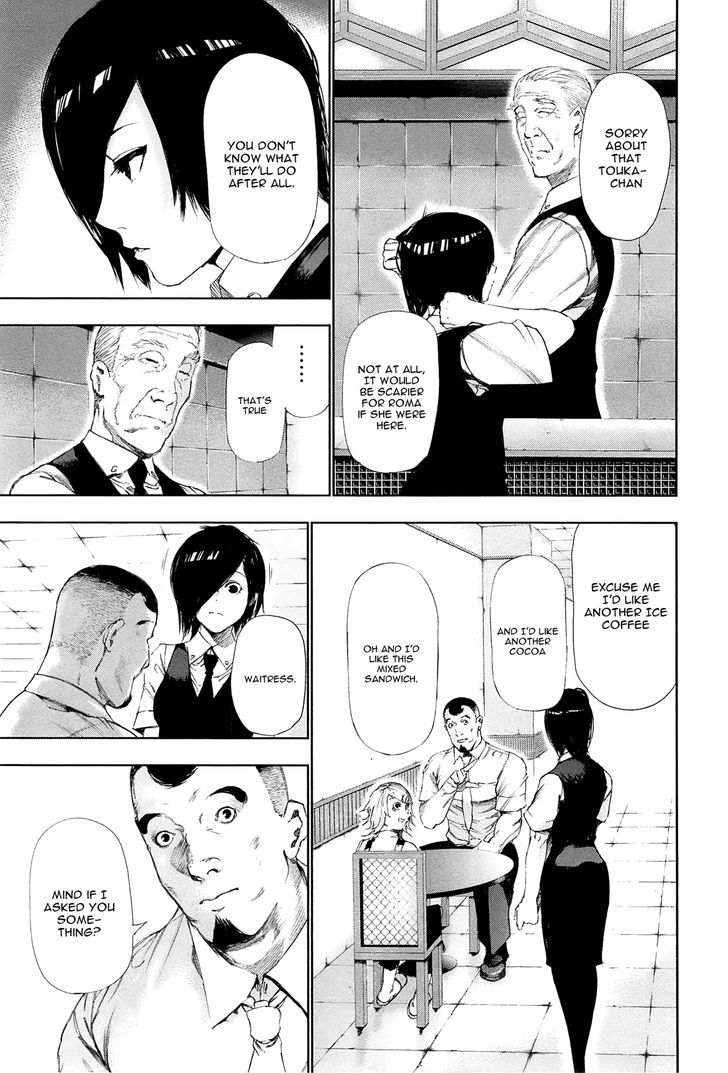 Tokyo Ghoul, Vol. 10 Chapter 93 Bait, image #5