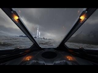 Elite: dangerous - Flight in the atmosphere (fan game demo)