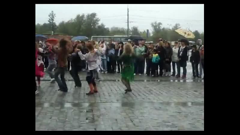Flashmob Beat It - 29 августа 2010г. Москва.