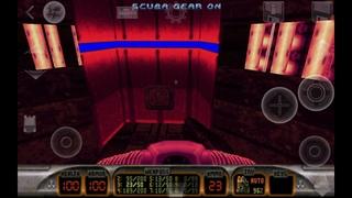 Duke Nukem 3d. Android. Level E2M1. Spaceport. All secrets. Raze touch.