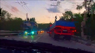 🔥Летим на мерсе Из Алушты в Ялту\ Трасса на закате\ Крым 2020