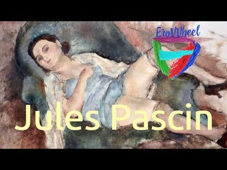 Jules Pascin (1885-1930): Classical nude oil paintings