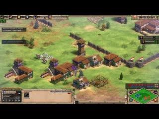 [Wanderbraun] Лучший игрок СНГ против Китая. Vinchester vs Vivi | Стратегия Age of Empires 2