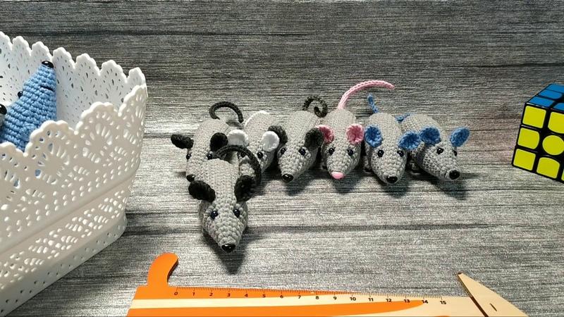 Вязаные игрушки Мини крысы Крысомания 3 Ещё не финал