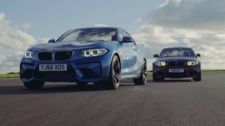BMW M2 vs BMW 1M Coupe   Chris Harris Drives   Top Gear