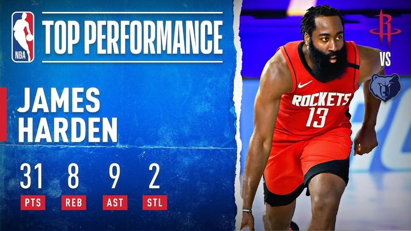 Harden Leads Rockets With 31 PTS 8 REB 9 AST 2 STL!